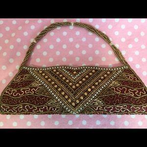 Handbags - Elegant beaded evening clutch